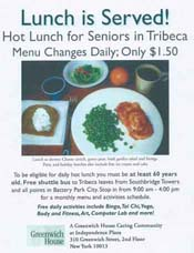 Senior Lunch Flyer